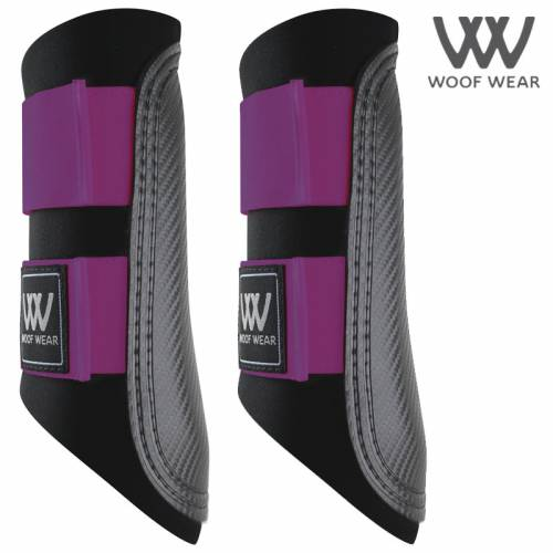 Woof Wear Colour Fusion Club Brushing Boot - Ultra Violet