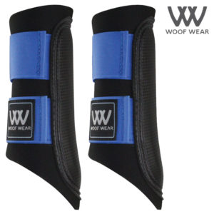 Woof Wear Colour Fusion Club Brushing Boots - Electric Blue