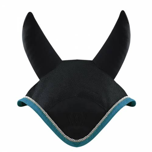 Woof Wear Ergonomic Fly Veil - Turquoise