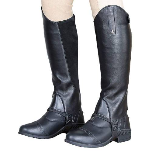 Shires Moretta Synthetic Gaiters - Black