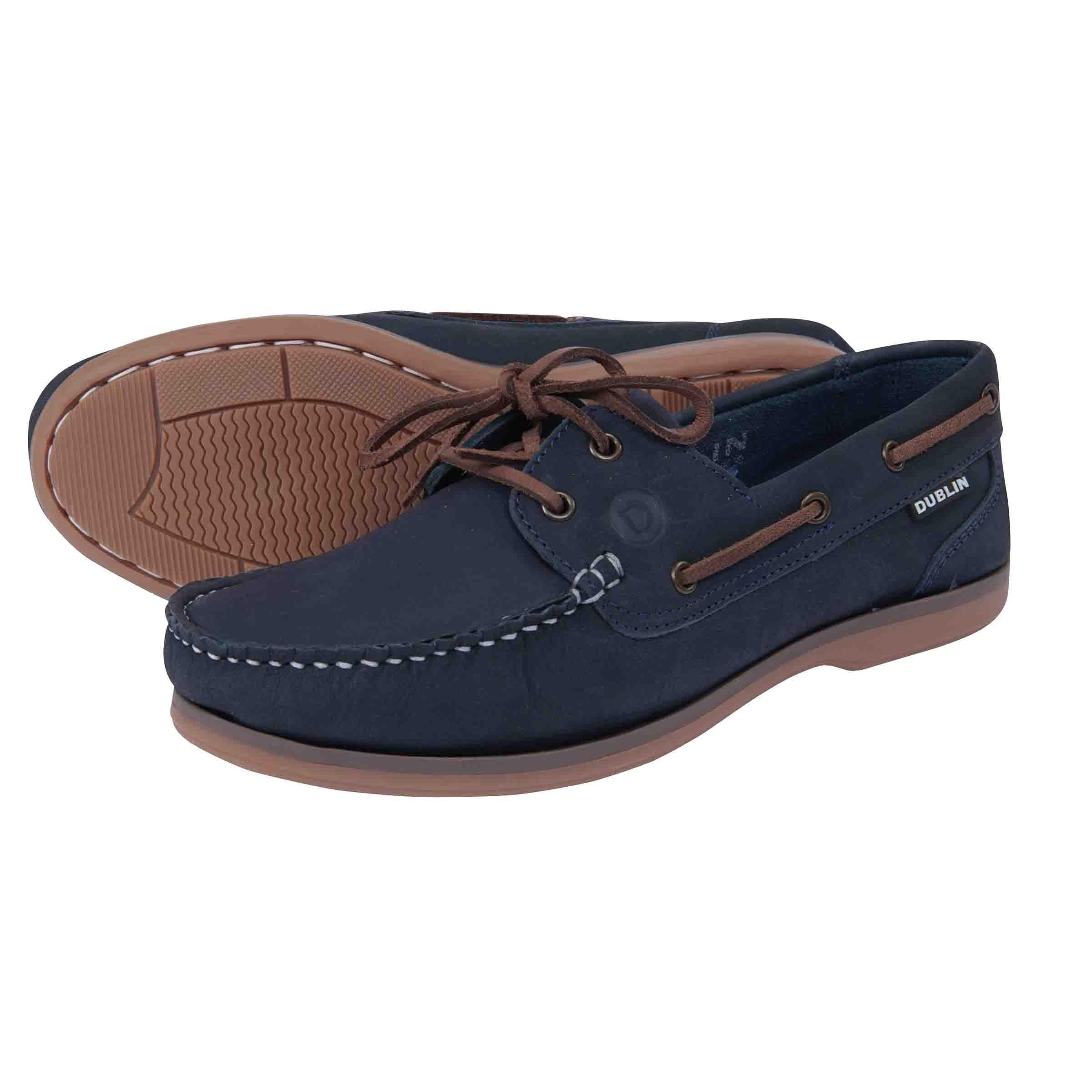 Dublin Broadfield Arena Shoes - Navy