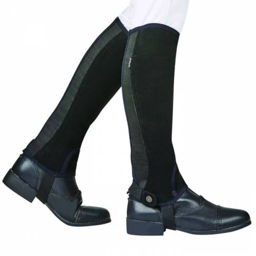 Dublin Easy Care SL Grip Half Chaps - Adult Black