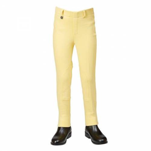 Dublin Classic Childs Pull On Jodhpurs - Banana