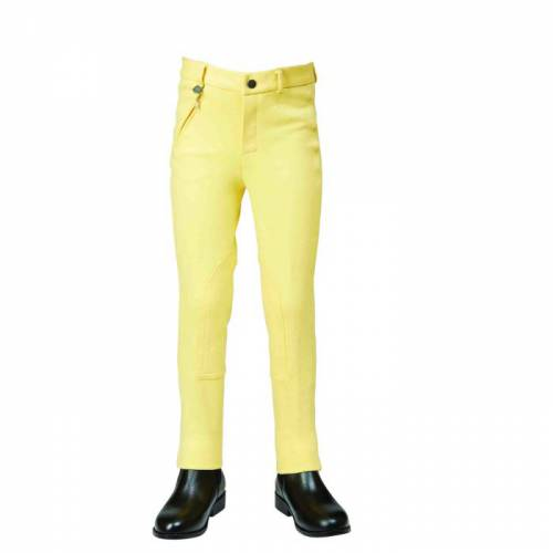 Dublin Classic Childs Zip Up Jodhpurs - Banana