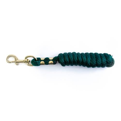 KM Elite 6ft Poly Leadrope - Hunter Green