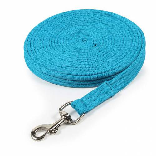 Shires Cushion Lunge Line - Blue