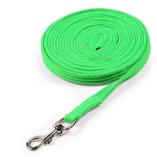 Shires Cushion Lunge Line - Green