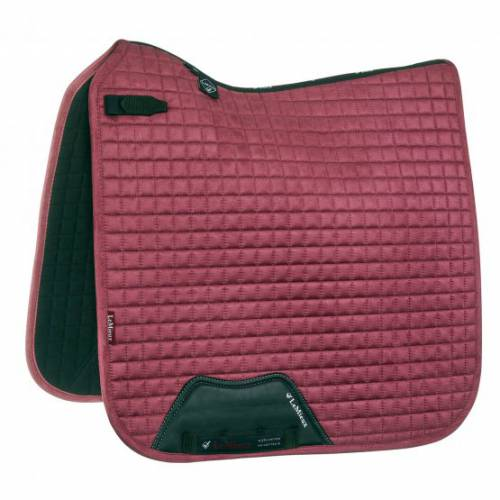 LeMieux ProSport Suede Dressage Square - French Rose