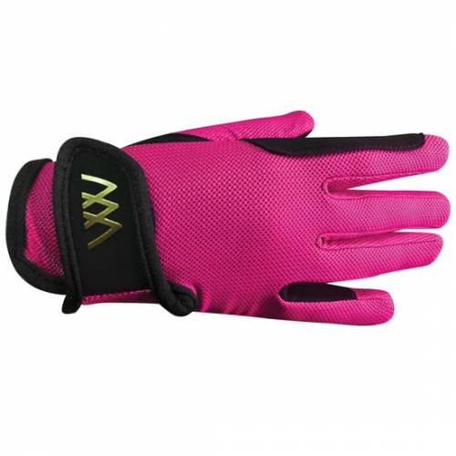 Woof Wear Young Riders Pro Glove - Berry