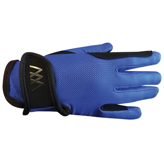 Woof Wear Young Riders Pro Glove - Blue