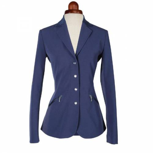 Shires Aubrion Oxford Ladies Show Jacket - Navy