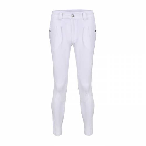 Equetech Mens Kingham Breeches - White