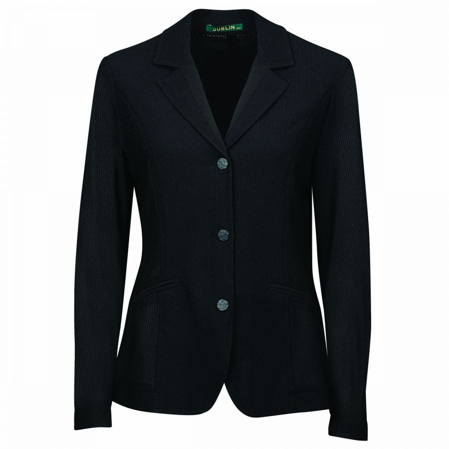 Dublin Hanna Mesh Tailored Jacket- Black