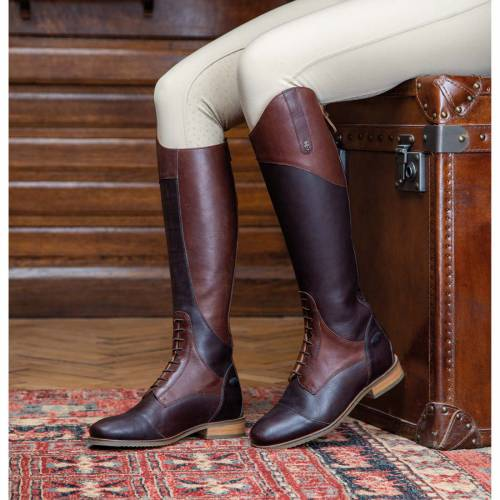 Shires Moretta Pietra Riding Boots - Chestnut