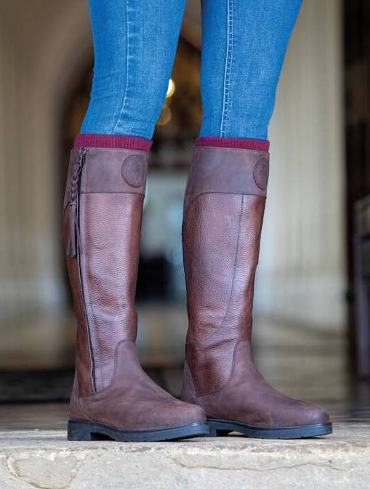 Shires Pamina Country Boots - Brown