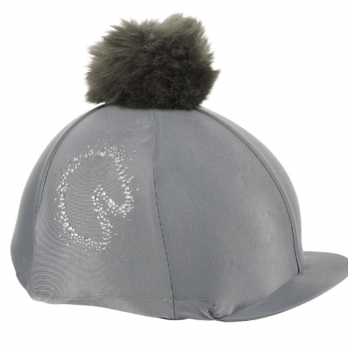 Shires Sparkle Horse Hat Cover - Grey image