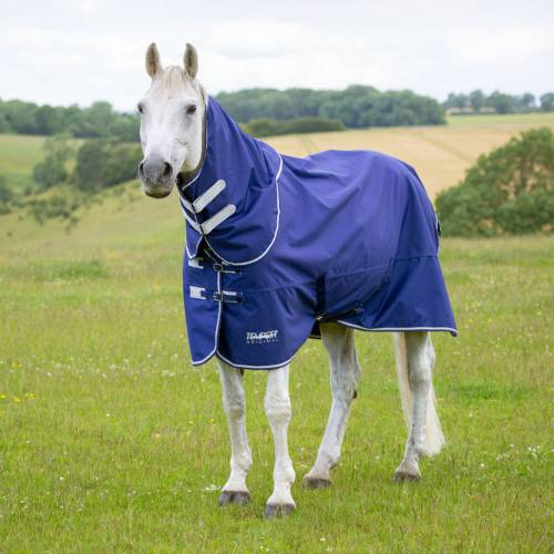 Shires Tempest Lite 0g Rug & Neck Set - Navy