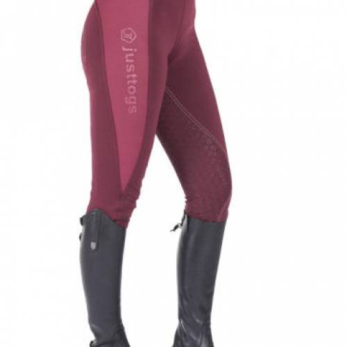 Just Togs Riding Tights - Wine