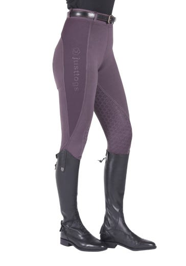 Just Togs Just Tights Riding Tights - Grey