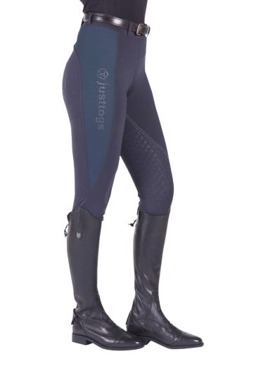 Just Togs Just Tights Riding Tights - Navy