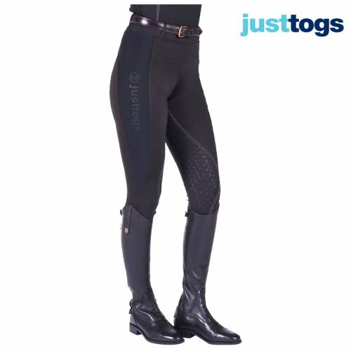 Just Togs Just Tights Riding Tights - Black