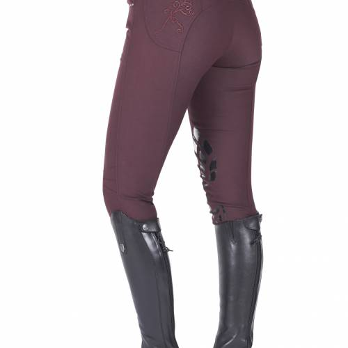 Just Togs Glitz Breech - Wine