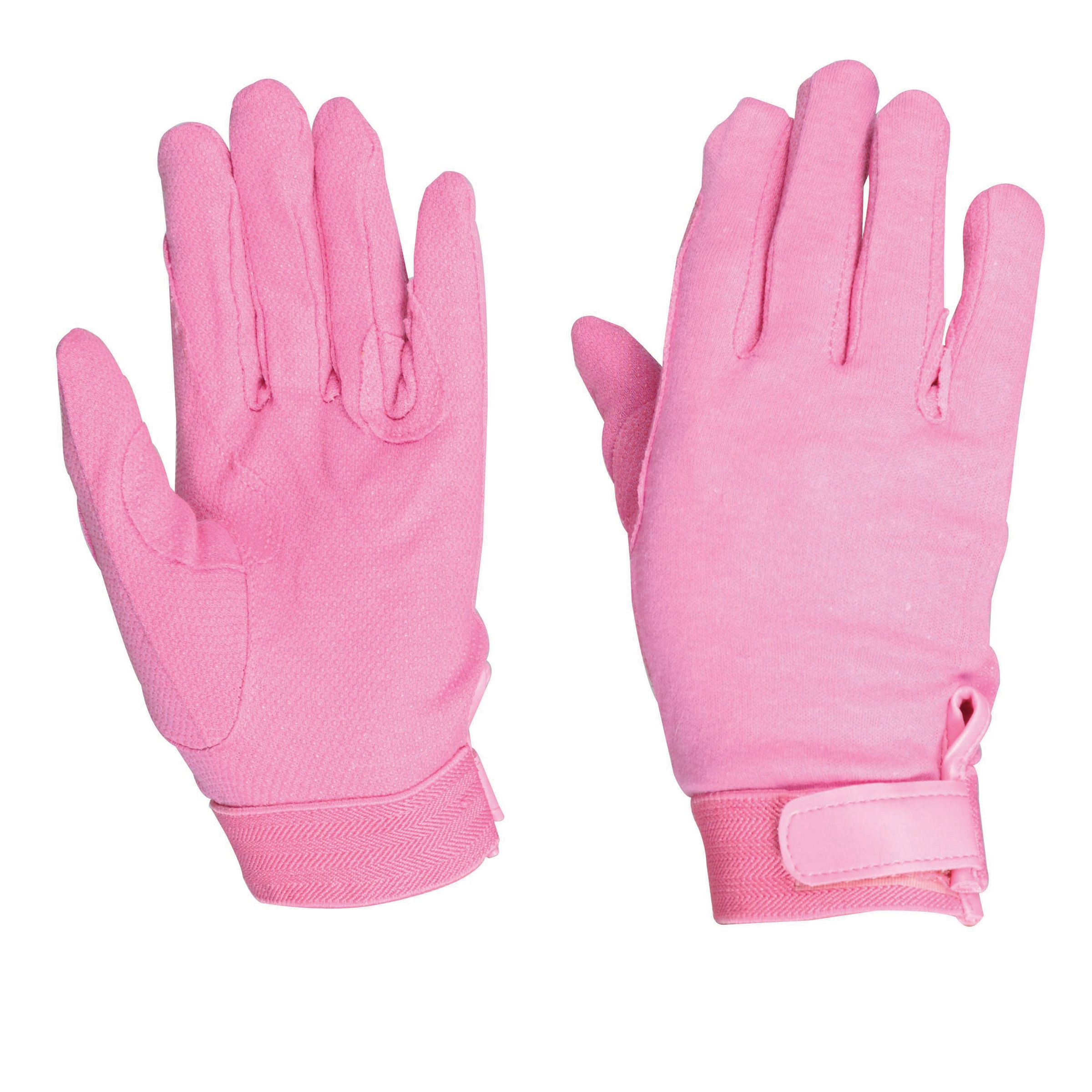 Dublin Track Riding Gloves - Pink