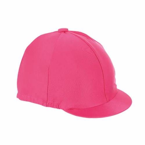 Shires Plain Hat Silk - Raspberry
