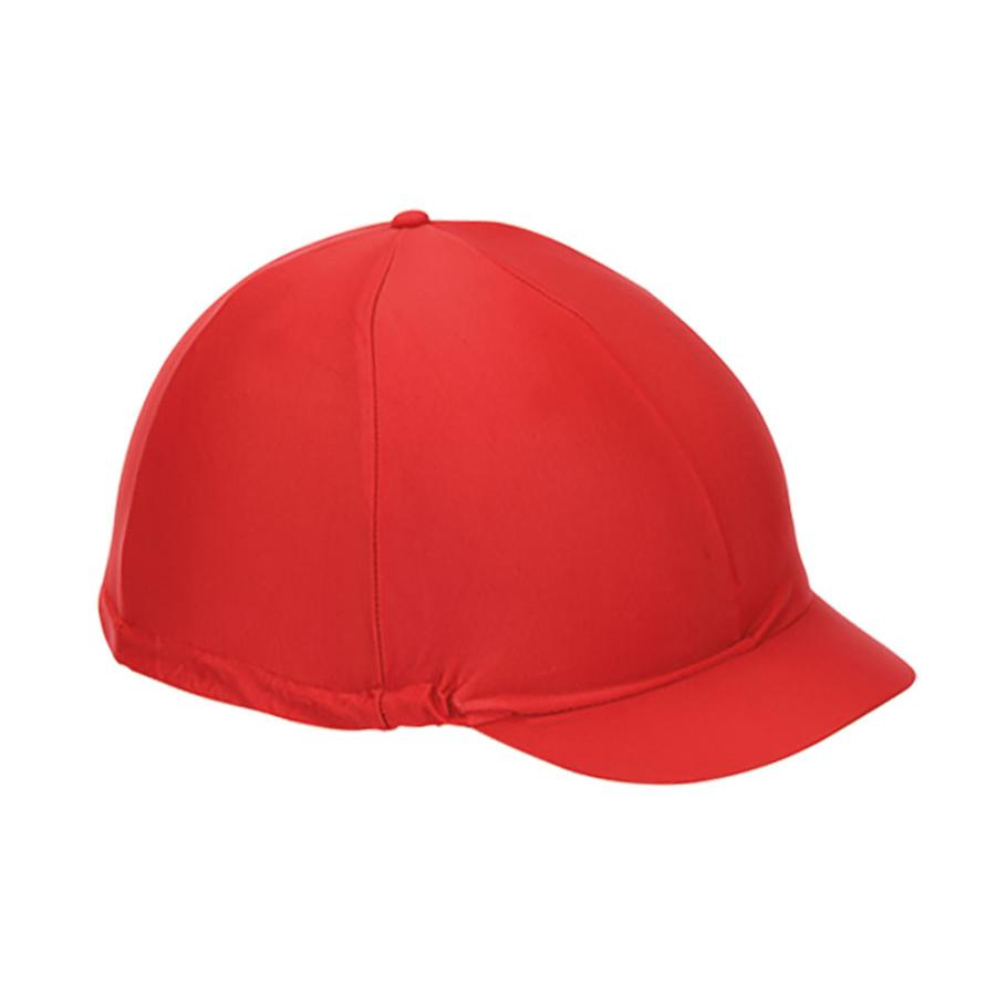 Shires Plain Hat Silk - Red