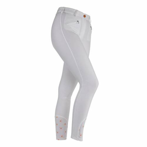 Shires Aubrion Maids Thompson Breeches - White