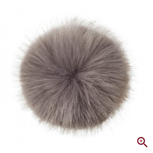 LeMieux Replacement Faux Pom Pom - Grey