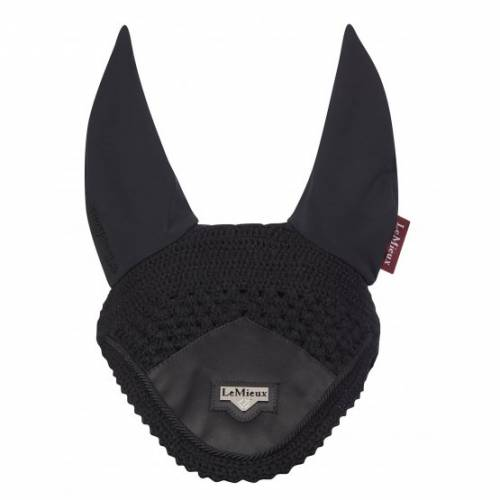 LeMieux Loire Satin Fly Hood - Black