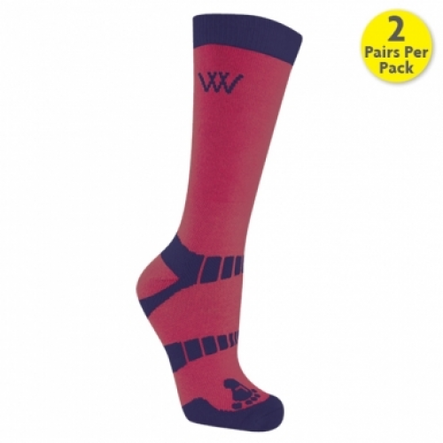 Woof Wear Short Riding Socks - Shiraz