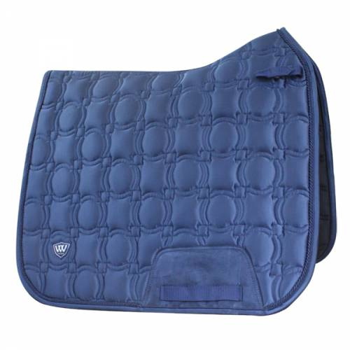 Woof Wear Vision Dressage Saddlepad - Navy - Full