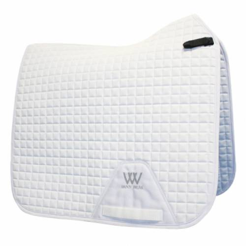 Woof Wear Pro Dressage Saddlepad - White