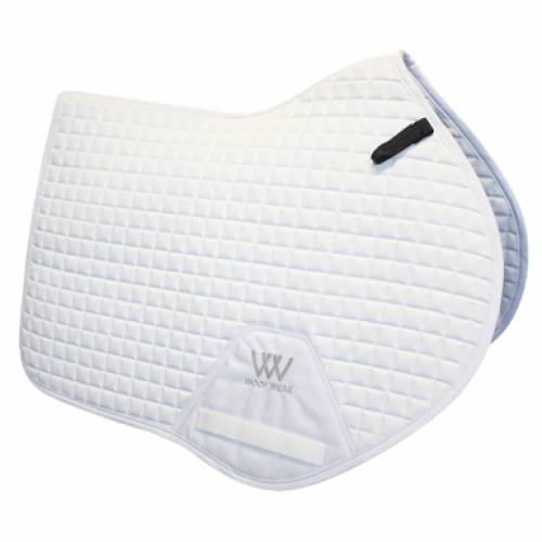 Woof Wear Pro Close Contact Saddlepad - White
