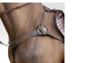 Sabre Kompetitor 5 Point Breastplate - Brown - XF