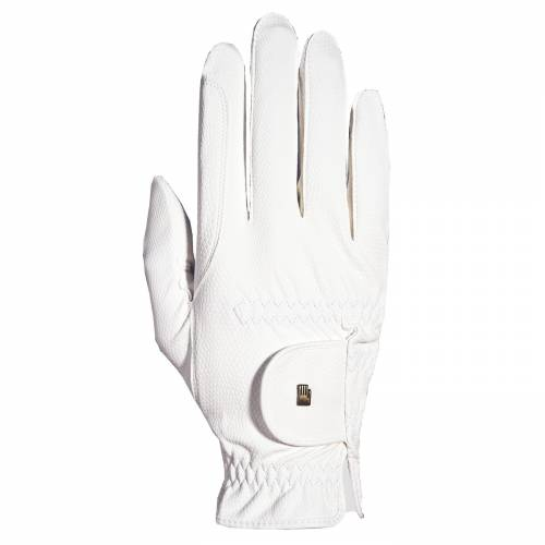 Roeckl Chester Grip Gloves - White