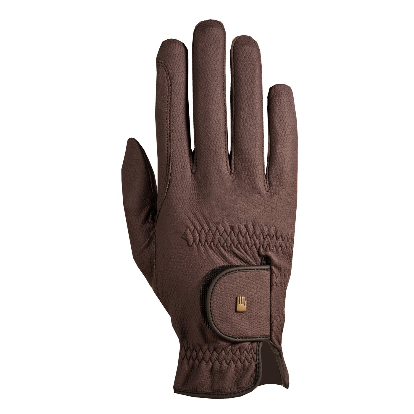 Roeckl Chester Grip Gloves - Mocha