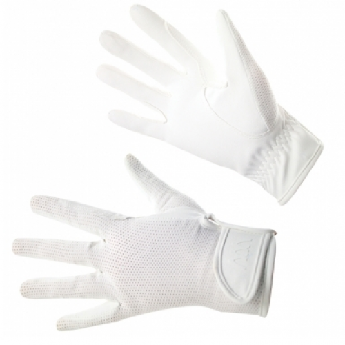 Woof Wear Grand Prix Riding Gloves - White
