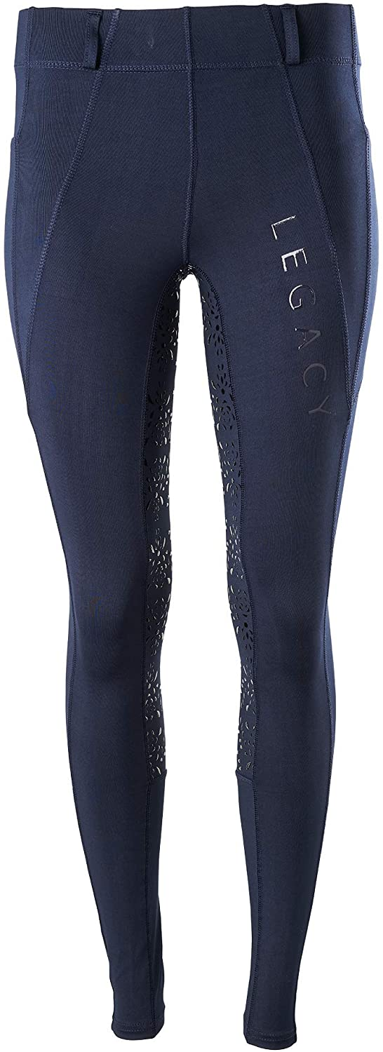 Legacy Products Ladies Riding Tights - Navy