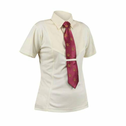 Shires Short Sleeve Childs Show Shirt - Canary/Yellow