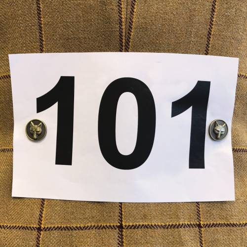 Equetech Magnetic Number Holders  image