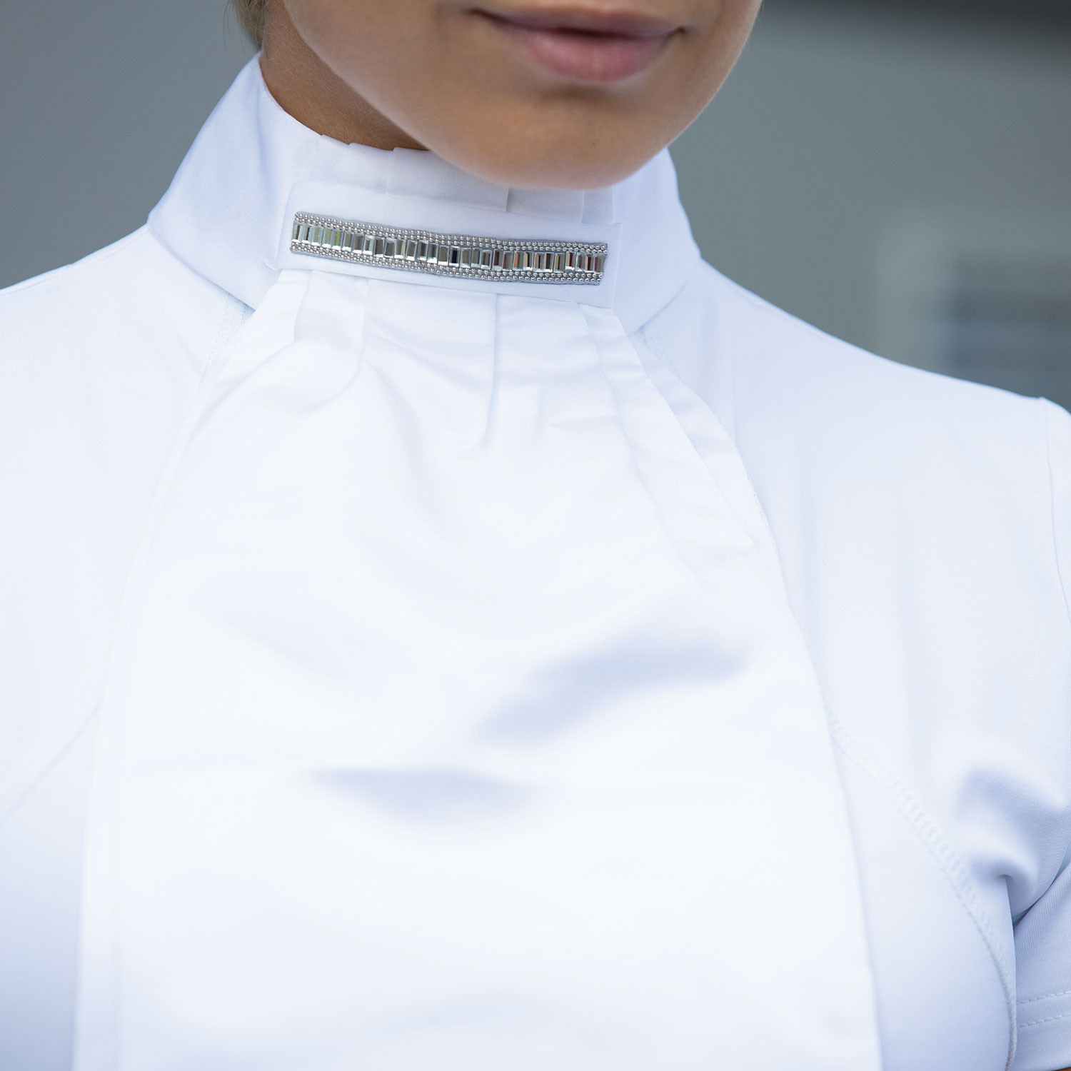 Equetech Deluxe Ready Tied Stock - Thea