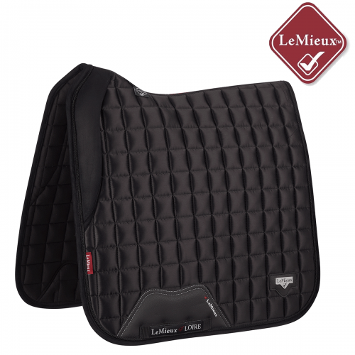 LeMieux Loire With Memory Foam Dressage Square - Black