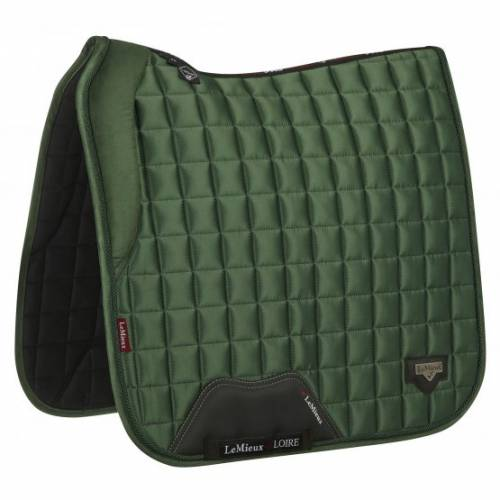 LeMieux Loire With Memory Foam Dressage Square - Hunter Green