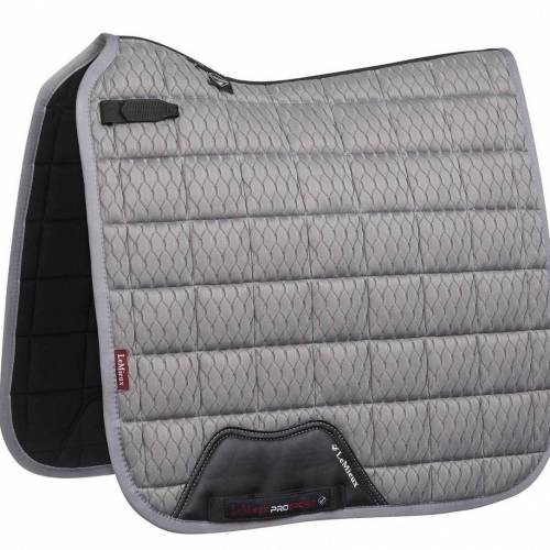 LeMiuex Carbon Mesh Dressage Square- Grey- Large