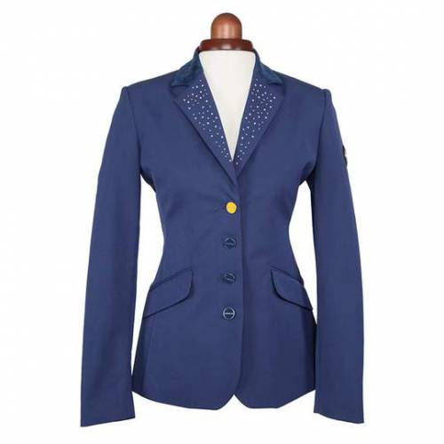Shires Aubrion Oaklawn Ladies Show Jacket - Navy