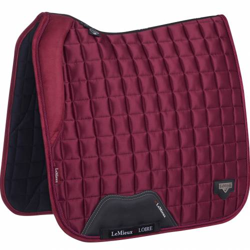 LeMieux Loire With Memory Foam Dressage Square - Mulberry