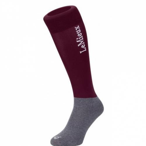 LeMieux Competition Socks - Burgundy